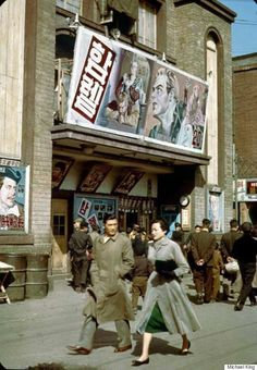 Seoul in 1950s through an American soldier's eyes. Even back in those days, impoverished by the tragic Korean War, there were such fashionistas!