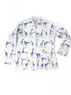 """<p class=""""p1"""">Giraffe cotton jacket (size S/M/L)</p>   <hr /> <p class=""""p1"""">While on the hunt for some unique products within the streets of Pushkar, we have never seen so many amazing treasures. When running into these typical Indian jackets, we fell in love immediately and obviously had to take them back home. All are made by hand and we have just limited stock available, so don't wait too long. Or as the real fashio..."""