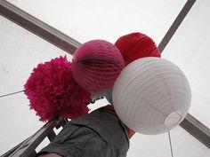 wedding tissue balls