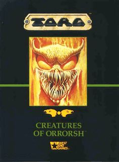 CREATURES OF ORRORSH: A bestiary for the TORG roleplaying game.