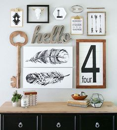 DIY Home Decor Create Meaningful Decor With Shutterfly ~ Iu0027m In LOVE With  This Gallery Wall From The Crafted Sparrow!
