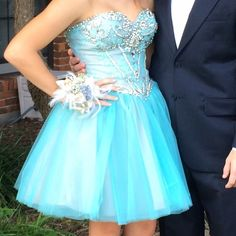GORGEOUS homecoming/cocktail dress! Worn once for homecoming. The dress is in perfect condition. Sherri Hill Dresses