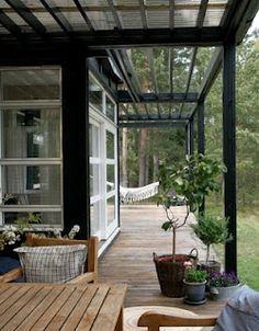 Pergola For Small Patio Outdoor Rooms, Outdoor Gardens, Outdoor Living, Indoor Outdoor, Orangerie Extension, Patio Interior, Outside Living, Patio Roof, Pergola Roof