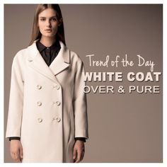 IMPERIAL FALL WINTER 2013 LOOKBOOK | NEW ARRIVALS   Over, white and pure < Get the coat http://infocommerce.imperialfashion.com/prodotto-100-KC47MOQ.html
