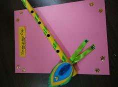 Art ,Craft ideas and bulletin boards for elementary schools: Janmashtami craft…