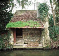 Un lavoir à Pontoise.