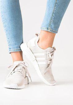 adidas Originals NMD_R1 - Baskets basses - talc/offwhite/white - ZALANDO.FR