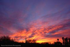 sunrise 05Feb13 in Tucson, Arizona