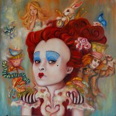 Gift Certificate for Custom Portrait oil Painting Lewis Carroll, Fairy Tales For Kids, Fairytale Art, Pop Surrealism, Henri Matisse, Body Painting, Alice In Wonderland, Just In Case, Illustrators