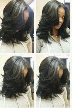 40 Chicest Sew-In Hairstyles for Black Women - Hair Tutorials Sew In Hairstyles, Ethnic Hairstyles, Pretty Hairstyles, Love Hair, Great Hair, Gorgeous Hair, Curly Hair Styles, Natural Hair Styles, Twisted Hair