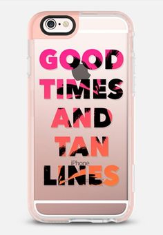 Casetify iPhone 7 Case and Other iPhone Covers - Good Times and Tan Lines - Pink Orange Ombre Palm Trees iPhone 6s Case by Ruby Ridge Studios | #Casetify