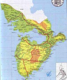 Map Of Sorsogon - http://holidaymapq.com/map-of-sorsogon.html