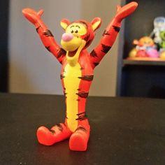 Tigger [Winnie the Pooh] STL file, ChaosCoreTech
