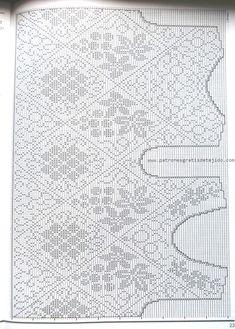 Fabulous Crochet a Little Black Crochet Dress Ideas. Georgeous Crochet a Little Black Crochet Dress Ideas. Filet Crochet Charts, Crochet Motif, Crochet Designs, Crochet Lace, Thread Crochet, Crochet Stitches, Diy Crafts Crochet, Fillet Crochet, Crochet Woman