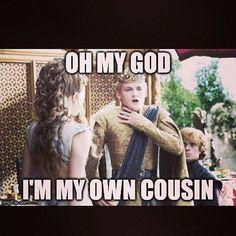 Natalie Dormer as Margaery Tyrell, Jack Gleeson as Joffrey Baratheon and Peter Dinklage as Tyrion Lannister