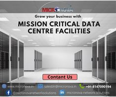 Micronova Data Centre was established to provide a reliable, well networked, and well-managed carrier-neutral Data Centre Infrastructure Services. To explore other services offered by Micronova, visit our website www.micronova.in, for queries email us at salesblr@micronova.in. #datacentre #colocation #networking #infrastructure #tier3 #cybersecuirty #micronova #IT #informationtechnology Data Center Infrastructure, Data Center Design, Rack Solutions, Class Tools, Fire Suppression System, Power Backup, Cloud Data, Server Room, Network Solutions