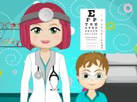 Play Amy Eye Doctor on Top Baby Games.  Play Baby Hazel Games, Fun Games,Kids Games and many other free girl games
