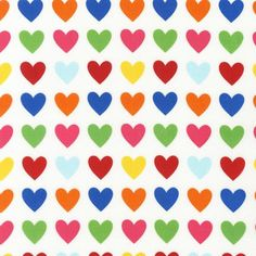 Remix Hearts Bright by Ann Kelle for Robert by CottonBlossomFarm, $9.25