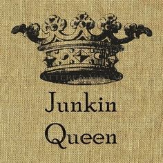 Junkin Queen- a brief glimpse into my love of Salvage/Thrift/Vintage goodies....Then what i'd do with them...:)