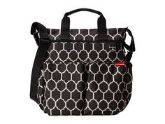 Skip Hop Duo Signature Diaper Bag Onyx Tile/Black/White - Zappos.com Free Shipping BOTH Ways
