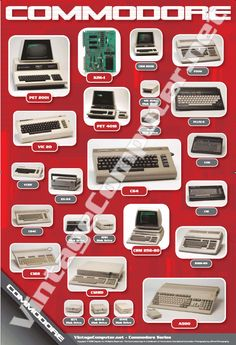 History of Commodore Poster