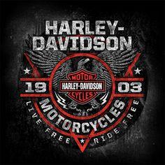 Relik Studios Harley Davidson Posters, Harley Davidson Cvo, Harley Davidson Pictures, Harley Davidson Tattoos, Harley Davidson Wallpaper, Harley Davidson T Shirts, Vintage Harley Davidson, Harley Davidson Motorcycles, Steve Harley
