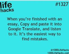 Copy and paste an essay