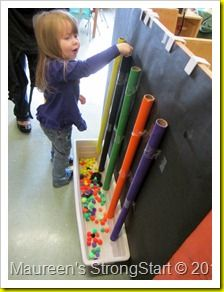 Fun group activity - children can be involved in both the process of making the work as well as enjoying the finished product.