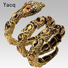 A little something new changes everything.   YACQ Stretch Snak...   http://www.zxeus.com/products/yacq-stretch-snake-bracelet-armlet-upper-arm-cuff-women-crystal-bangle-jewelry-antique-gold-silver-color?utm_campaign=social_autopilot&utm_source=pin&utm_medium=pin