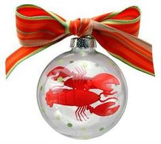 Larry the Lobster Hand Painted Ornament #JoesCrabShack