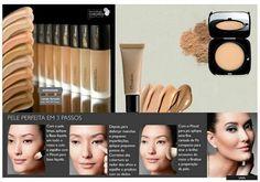 Base da Linha Una ideal pra uma pele perfeita. #maquiagem #makeup #naturauna#natura #consultoriaativa #suzanasantiagonatura #beleza #look