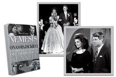 """""""Nêmesis–Onassis, Jackie O e o Triângulo Amoroso Que Derrubou os Kennedy"""" é dica de livro hot http://glo.bo/1Kk9GiN"""