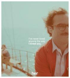 """Her"" (2013) director: Spike Jonze"