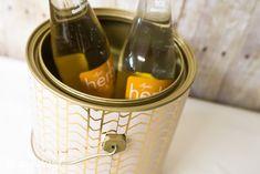 como convertir una lata de pintura en una linda hielera // Upcycle a Paint Can Into an Ice Bucket or Storage Container! (step by step) #DIY