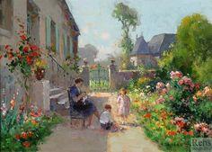 Viaje Pela França do Passado em Belíssimas Pinturas
