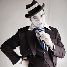 Mime Artists Inc, Street Entertainer Mime Artist, Vintage Circus, Le Moulin, Cabaret, Joker, Animation, Entertaining, Clowns, Artists