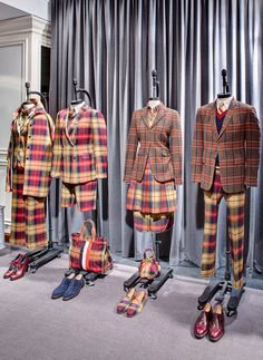 Now who's gone MAD FOR PLAID?! Black Fleece Fall 2013 Press Preview - @Brooks Brothers