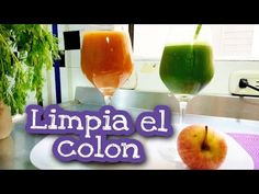 3 jugos para limpiar el colon. Desintoxica el hígado, desinflama - Natur... Canal E, Alcoholic Drinks, Wine, Natural, Youtube, Food, Medicine, Home, Juices