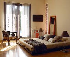 Zen bedroom minimal