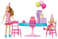 Barbie Chelsea Birthday Party Playset >>> To view further for this item, visit the image link. Barbie Kids, Barbie Doll Set, Barbie Doll House, Barbie Camper, Barbie Stuff, Barbie Birthday Party, Barbie Party, Birthday Cake, Birthday Accessories