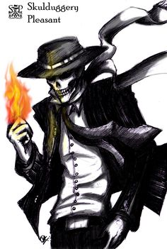I love the series very much. It's funny but also deep and showed me that things may not be as they seem and that only ourselves can decide about our future!  Skulduggery Pleasant by *VanKid
