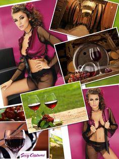 la donna è come se fosse un buon vino! più invecchia , e più è buono !  Indossa Gogo Bolero http://www.sexycostumi.com/babydoll-chemise/1807-gogo-bolero-7419.html  the woman is like a good wine! more older, and more is good! Wearing Bolero Gogo