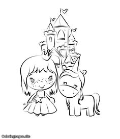 Unicorn online coloring for kids with online coloring tools Unicorn Coloring Pages, Animal Coloring Pages, Coloring Pages To Print, Printable Coloring Pages, Free Coloring, Coloring Pages For Kids, Coloring Books, Kids Coloring, How To Draw Balloons