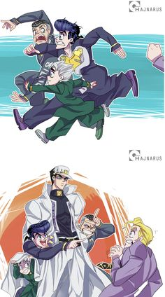 hajnarus on - Babysitter Jojo's Bizarre Adventure Anime, Jojo Bizzare Adventure, Comic Anime, Manga Anime, Fanart, Jojo's Adventure, Jojo Anime, Jojo Parts, Jotaro Kujo