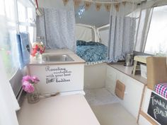 With a budget of only $100 you'd probably think a professional-grade popup camper remodel would be out of the question. But this defies the odds.