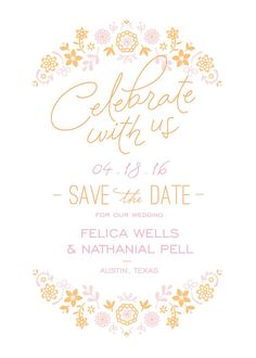 From Bridal Shower Invitations to Thank You Cards, we're here to help you every step of your wedded way. Our collection of affordable, customizable designs make it easy to share your love story with family and friends. This beautiful save the date can also be used for a general party invitation or custom changed to match your wedding day style. Get this exclusive design and more at Walmart, starting at $0.99 and including free shipping.