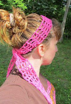 Free+Crochet+Headband+Patterns | Mesh Headband – Free Crochet Pattern | Ambassador Crochet