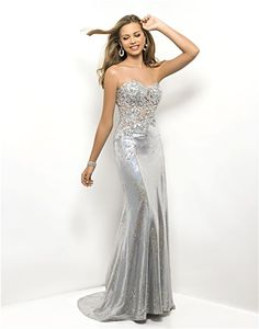 Prom DressesEvening Dress  by BLUSH 9500Cover of Teen Prom Seen in 17 Prom Get The Look!Preorder Now for February