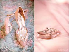 blush badgley mischka bridal shoes