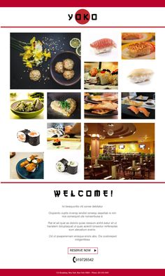 10 best email templates for restaurants images on pinterest email
